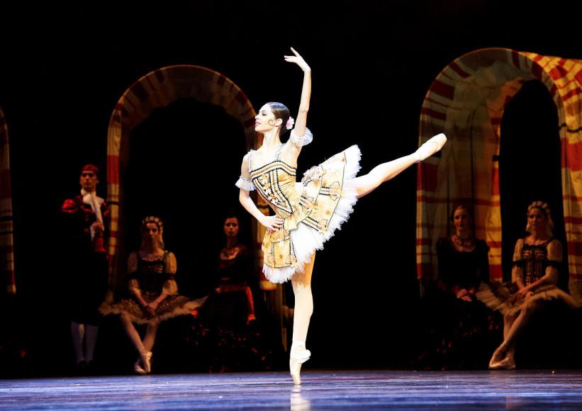 Мария Яковлева, прима-балерина Венской государственной оперы