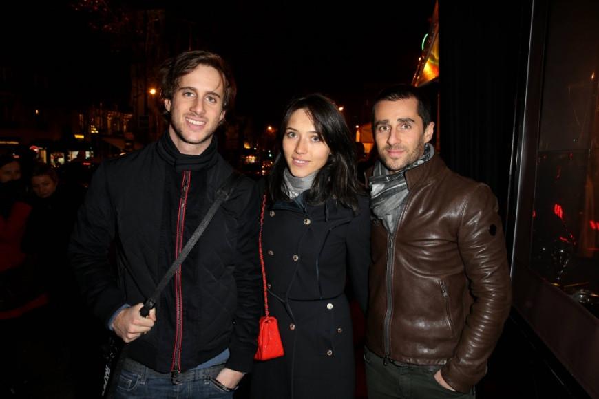 Nicolas Prost, известный французский гонщик (справа), с женой