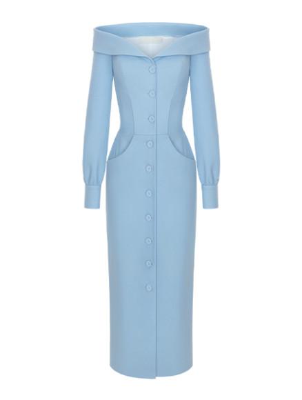 Платье Ulyana Sergeenko, 220 000 руб. (ulyanasergeenko.com)