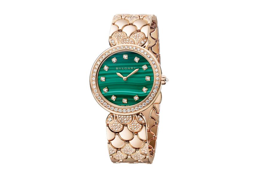 Часы Diva's Dream Malakhite, Bvlgari