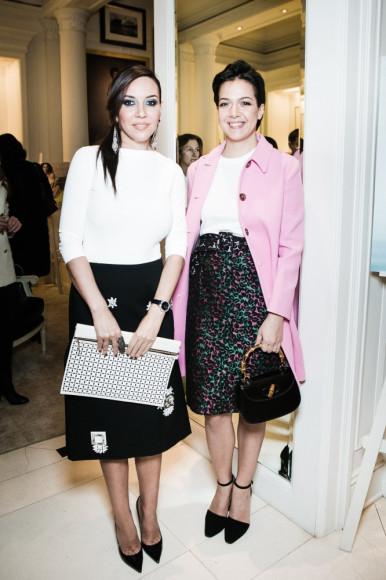 Ирина Чайковская (журналист) и Ксения Чилингарова (основатель российского бренда верхней одежды Arctic Explorer)