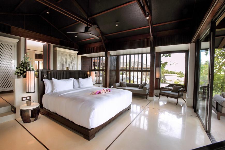 Спальня на вилле(ANI Private Resorts Sri Lanka)