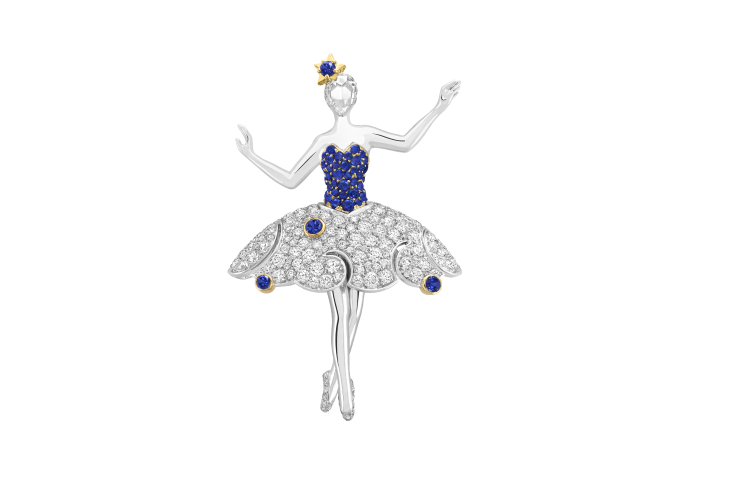 Брошь-балерина Téthys, Van Cleef & Arpels