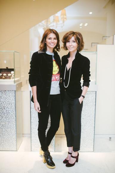 Анна Брострем и Виктория Полякова