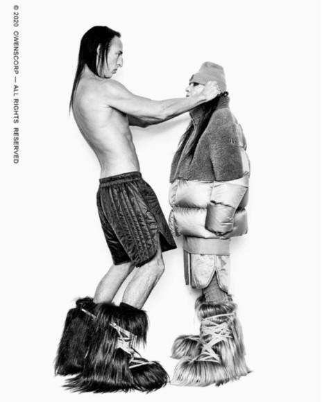 Коллаборация Rick Owens X Moncler