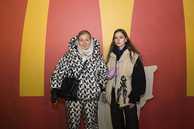 Виктория Андреянова и Лиза Костюкова
