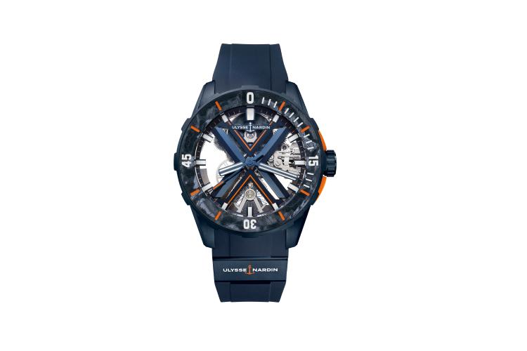 Часы Diver Skeleton, Ulysse Nardin