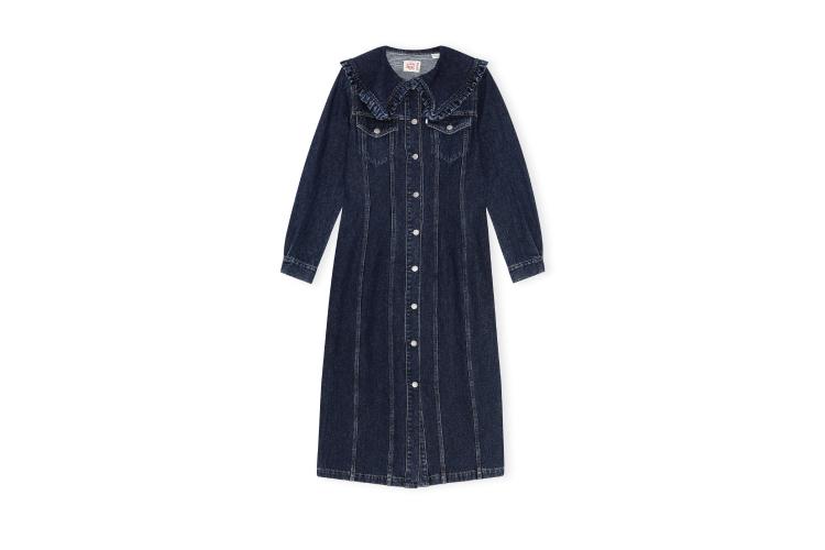 Платье Ganni X Levi's, цена по запросу (ЦУМ)