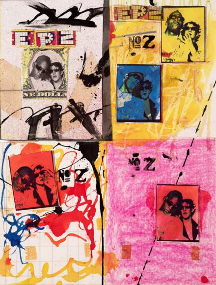 Жан-Мишель Баския и Дженнифер Штайн, «Антибейсбольные карточки», 1979