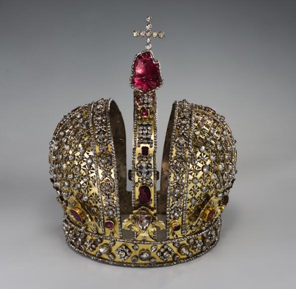 Корона императрицы Анны Иоанновны.Москва, 1730г.