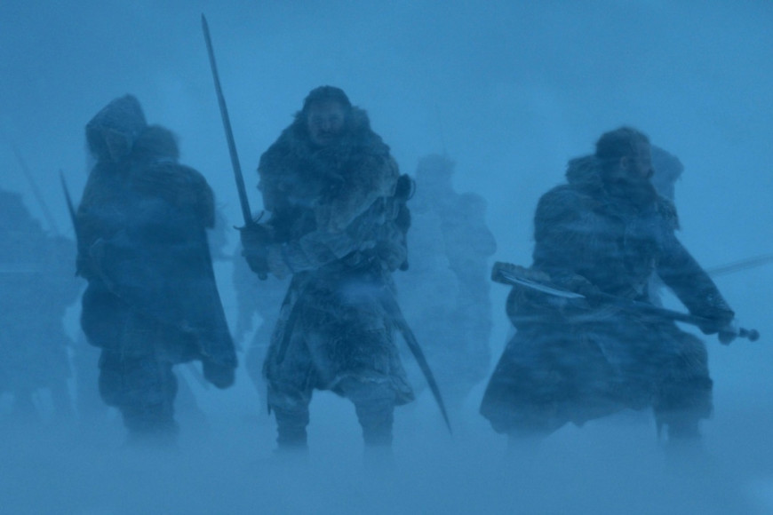 Кадр из сериала «Игра престолов», 7 сезон
