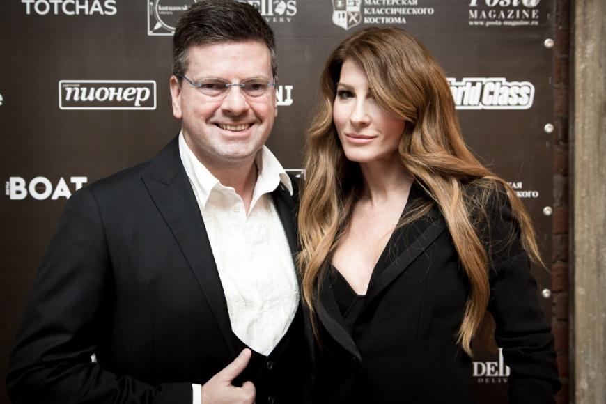 Константин Андрикополус с супругой