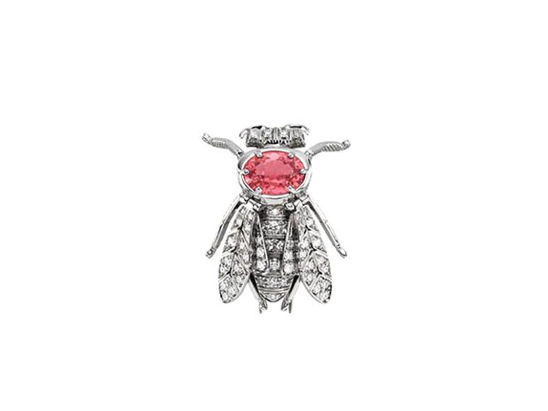 Брошь Hortus Deliciarum, Gucci High Jewelry