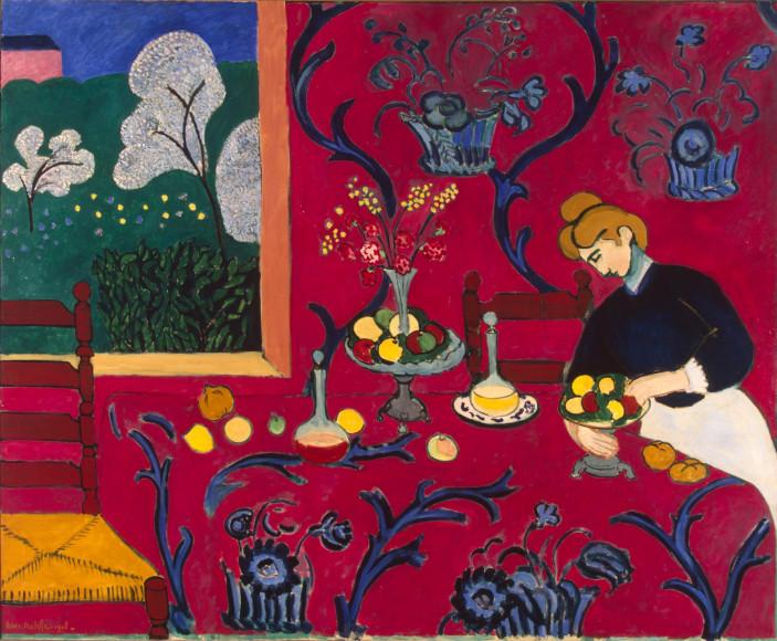 Анри Матисс. «Красная комната», 1908