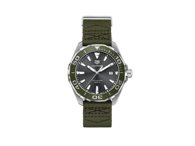 Часы Aquaracer 43 mm Khaki Special Edition, TAG Heuer