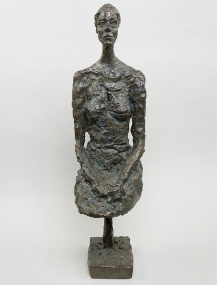 Альберто Джакометти. «Стоящая женщина», 1958