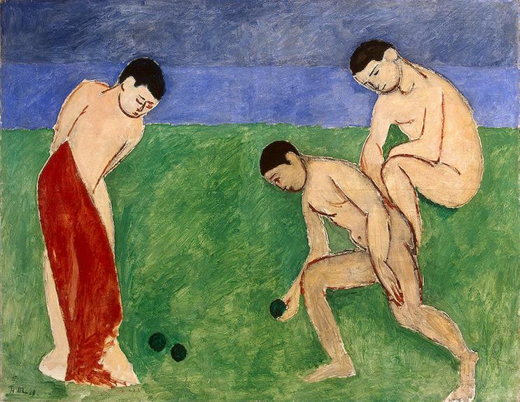 Анри Матисс. «Игра в шары», 1908