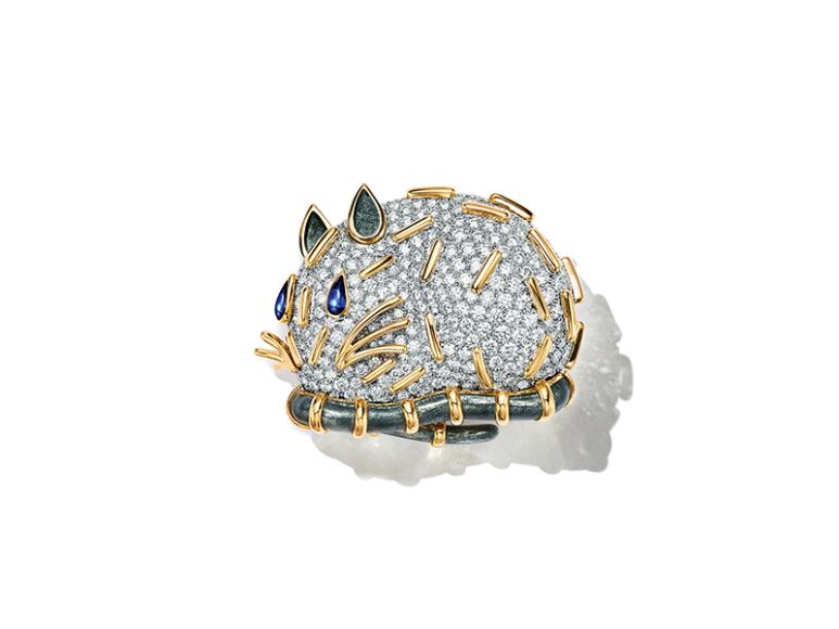 Брошь Schlumberger Petit Souris, Tiffany & Co., 12 680 000 руб. (магазины Tiffany & Co.)