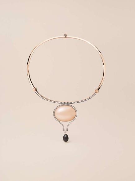 Колье с брошьюOndes miroirs,Hermès