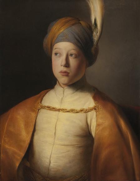 Ян Ливенс. «Мальчик в плаще и тюрбане (Портрет принца Руперта Пфальцского)»