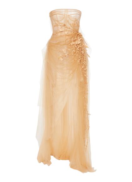 Платье Oscar de la Renta, $8190 (modaoperandi.com)