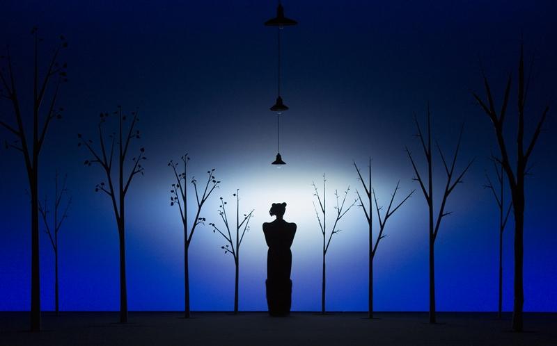 Сцена из спектакля «Сказки Пушкина»