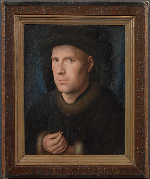 Ян ван Эйк, портрет Яна де Леу, 1436