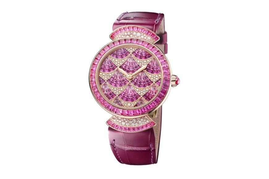 Часы Divina Mosaica с розовыми сапфирами, Bvlgari