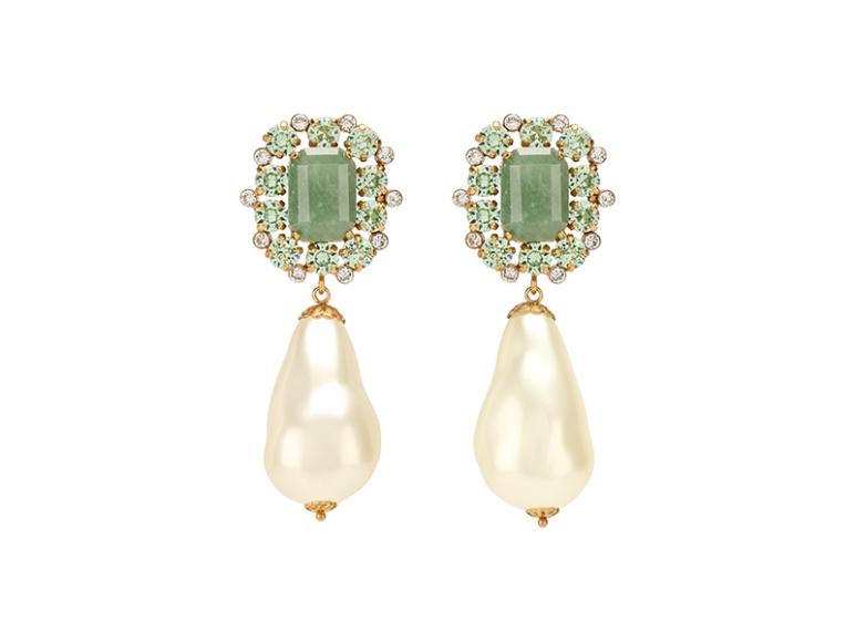 Серьги Dolce & Gabbana, 39300 руб. (Третьяковский проезд)