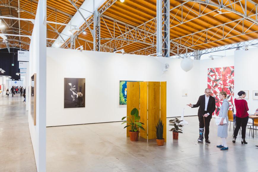 Стенд Galerie Martin Janda (Вена)