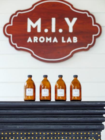 Собственная аромалаборатория отеля M.I.Y Aroma Lab