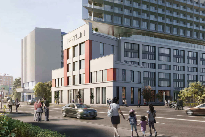 Апарт-комплекс Tatlin Apartments