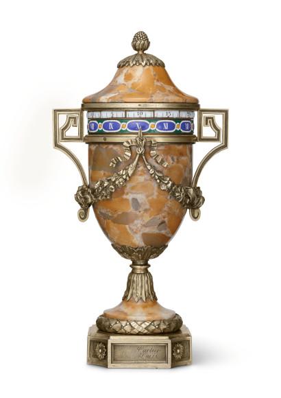 Настольные часы в виде вазы, Cartier, Париж, 1904
