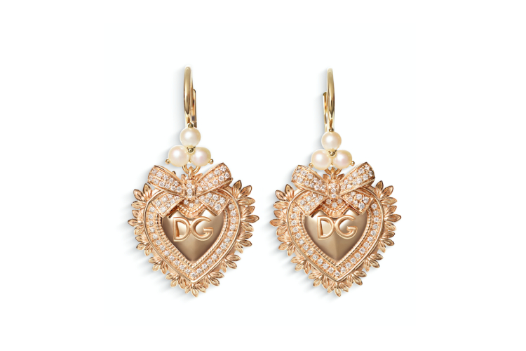 Серьги Devotion, Dolce & Gabbana, 561 000 руб. (ЦУМ)