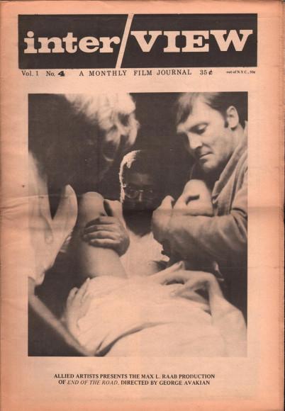 Кадр из фильма «Конец дороги», обложка 1969 года
