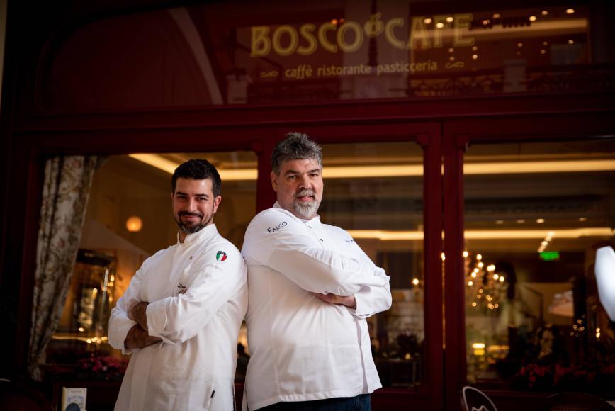 Давиде Корсо и Микеле Франдолик (Bosco Café)