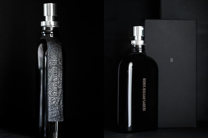 Главной нотой аромата Boris Bidjan Saberi стала кожа, материал, неизменно присутствующий в каждой коллекции дизайнера.