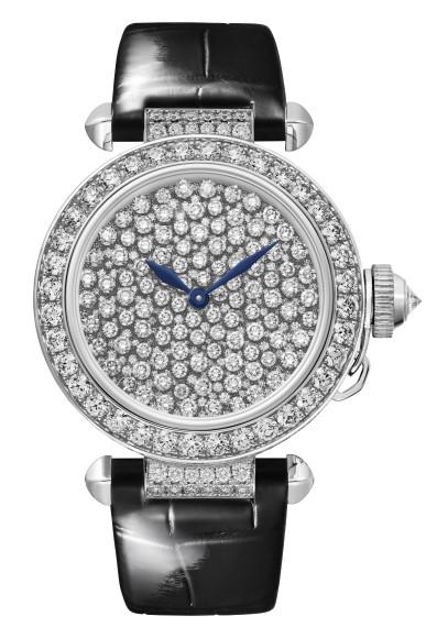 Часы Pasha de Cartier Serti Vibrant, Cartier