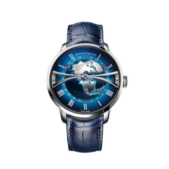 Часы Globetrotter Steel,Arnolt & Son