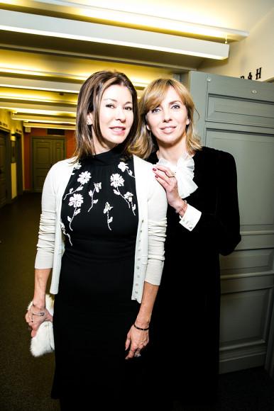 Ольга Слуцкер и Светлана Бондарчук
