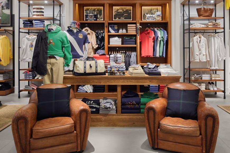 Магазин Polo Ralph Lauren в ТЦ «Авиапарк»