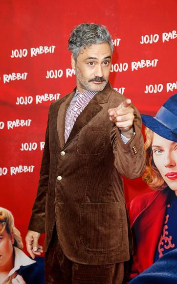 На премьере фильма «Кролик Джоджо» в Берлине