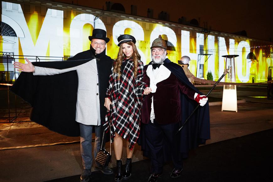 Константин Андрикопулос, Ольга Андрикопулос и Михаил Куснирович