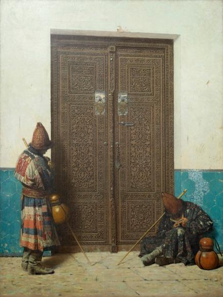 «У дверей мечети». 1873