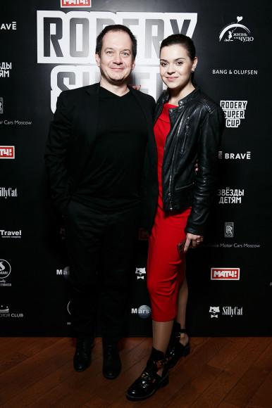Петро Шекшеев и Аделина Сотникова