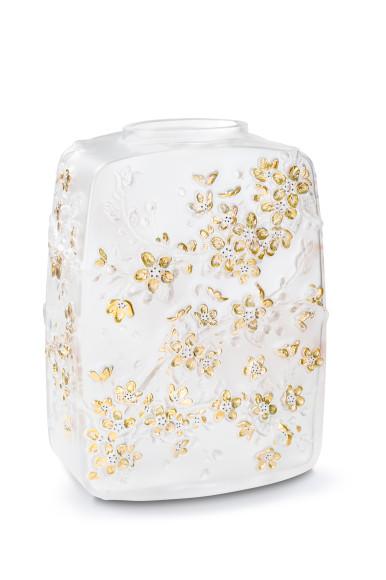 Ваза «Цветы вишни», прозрачный хрусталь, нумерованное изделие, 1160 000 руб., Lalique