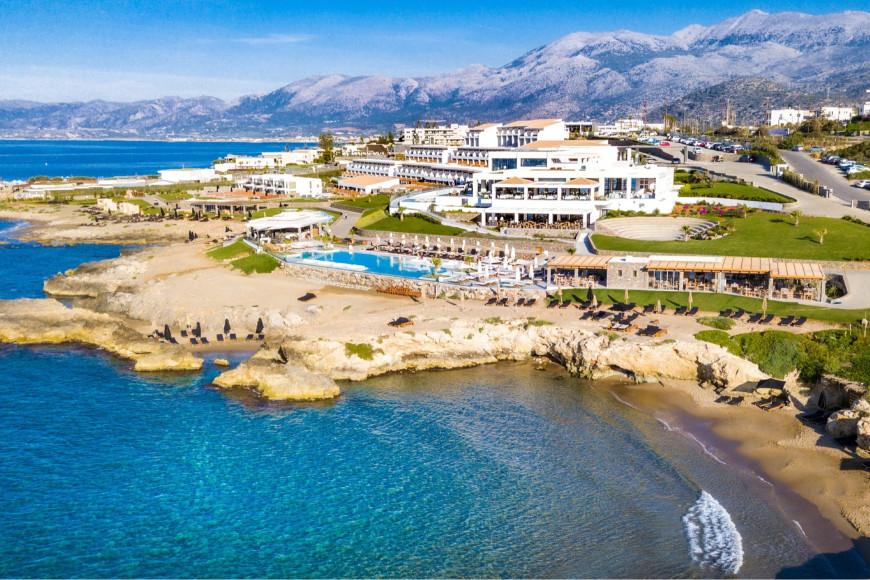 Вид на курорт Abaton Island Resort & Spa