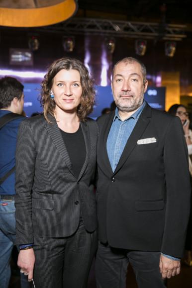Анита Гиговская, президент издательского дома Condé Nast Россия и Вадим Ясногордский, директор по развитию Home Concept