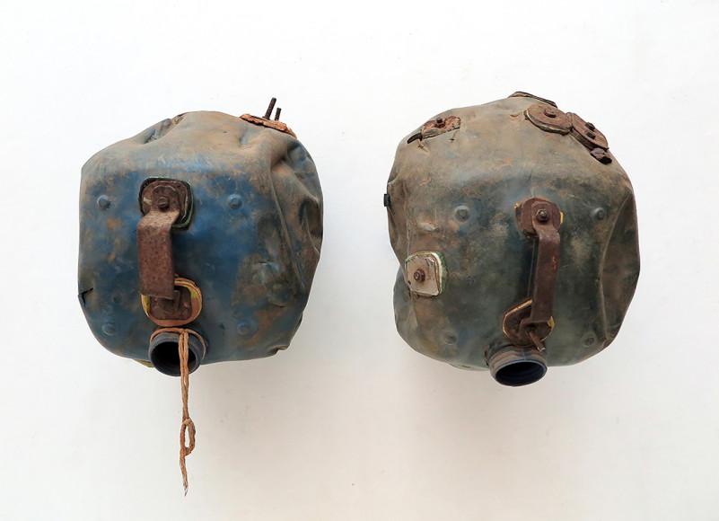 Ромуальд Хазуме (Romuald Hazoumè). «TransumEnts», 2015