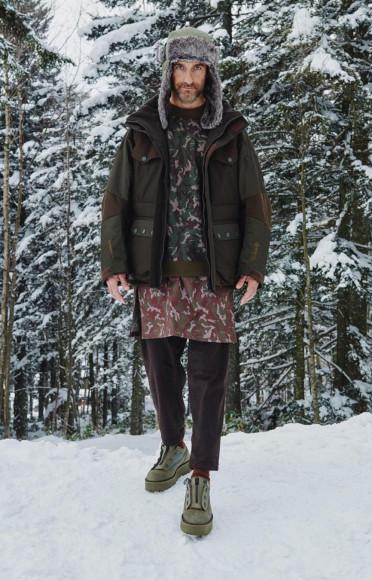 White Mountaineering, осень-зима 2021/22